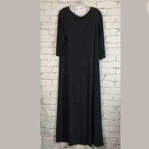 Elisabeth Women's Black Maxi Dress Plus Size 1